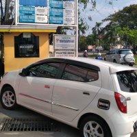 Jual Daihatsu: Oper kredit ayla 2013 tipe x manual putih