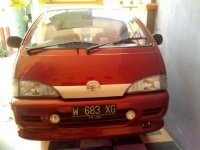 Jual Daihatsu: Espass 1.3 1995 MPV, warna Merah, AC, DVD, pajak panjang, siap pakai,