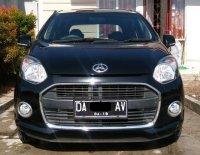 Jual Daihatsu Ayla Type X 2014 Hitam M/T Banjarmasin - Full Orisinil