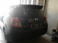 jual mobil datsun go+panca thn 2014 hitam
