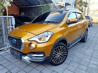 Jual Datsun Cross CVT Matik th 2018 asli DK Warna Trendy Gold Met Velg R16
