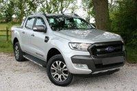Jual Ranger Double Cabin: Ford Range Wildtrak Double Cabin 2017 Silver