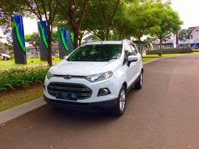 Ford Ecosport Titanium At 2015 Putih Mobilbekascom