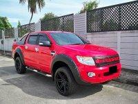 Jual Ford Ranger Double Cabin 2.2 XLT Thn 2014 Warna Merah ISTIMEWA