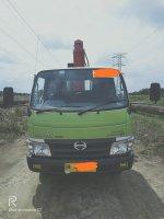 Hino Dutro 300 MDL + Foco Crane 3 Ton All Unit 2016