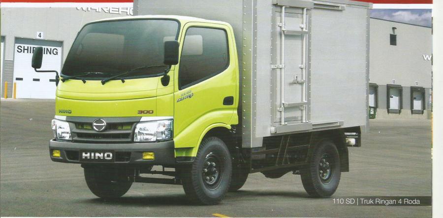 Hino Dutro 110 Sdl Truck 4 Ban Dengan Panjang Box Hingga 4 5 M Mobilbekas Com