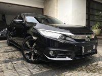 Jual Honda Civic 1.5 CVT E turbo AT 2016/pemakaian 2017 Hitam Mutiara