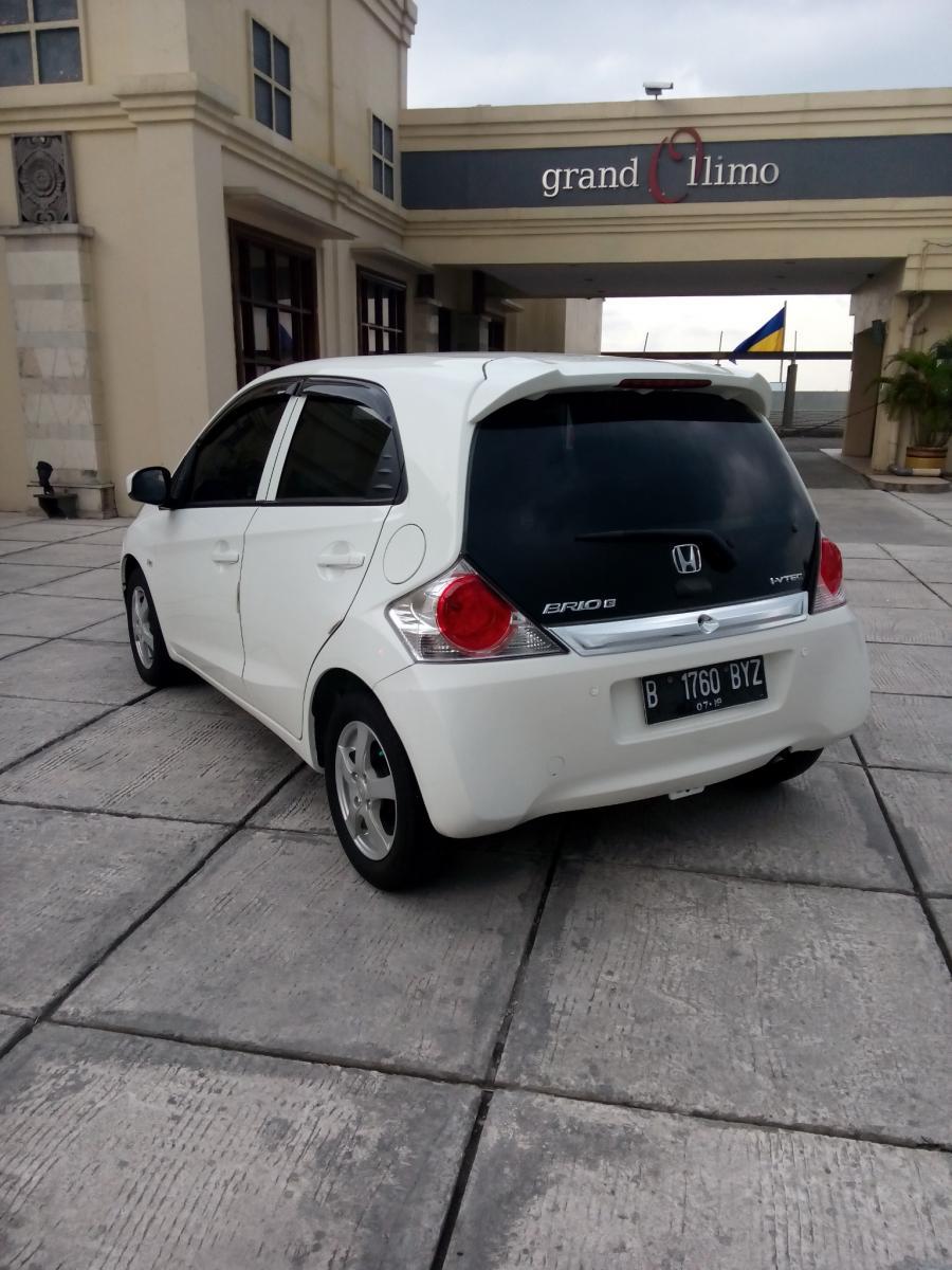 Honda Brio E 1 2 Matic 2014 Warna Putih Mobilbekas Com