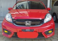 Jual Honda: Brio Satya E Manual 2016 Facelift Rallye Red