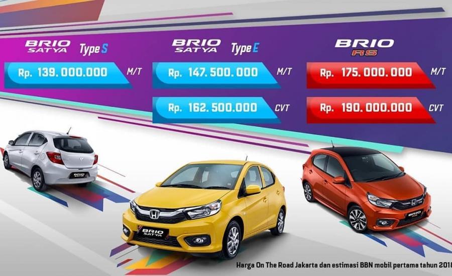Promo All New Honda Brio S E Rs 2019 Mobilbekas Com