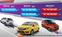 Jual Promo All New Honda Brio S, E & RS 2018
