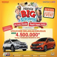Brio: Promo Honda Showroom Event