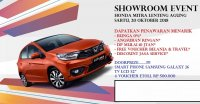 Jual Honda Brio Satya: Promo Showroom Event