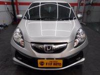 Jual Honda Brio 1.2 E AT 2014 Abu Metalik