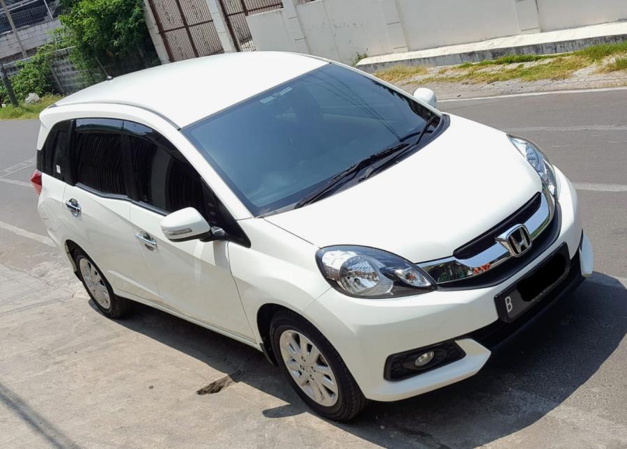 Honda Mobilio E CVT AT Putih Like new - MobilBekas.com