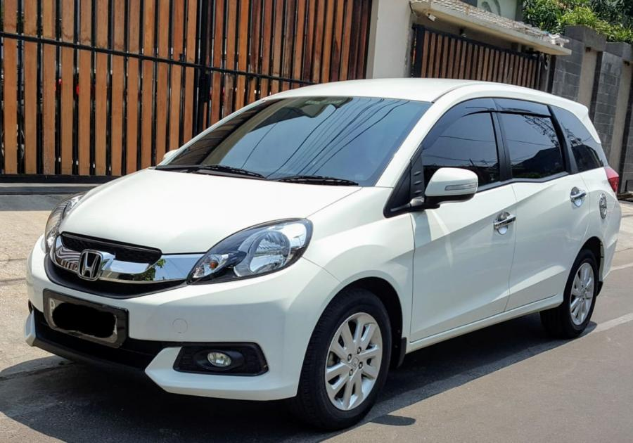 Honda Mobilio E CVT AT Putih Like new - MobilBekas.com