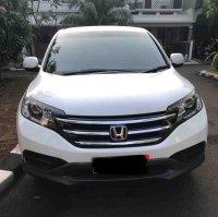 Jual CR-V: Honda CRV 2.0, 2013, matic, putih, 3 TV mobil, kamera mundur mulus