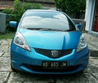 Dijual Honda All New Jazz type S tahun 2008 manual warna biru