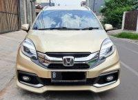 Jual Honda MOBILIO RS MATIC 2014 WARNA GOLD CANTIK MEWAH UNIT SANGAT MULUS