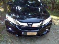 Jual City: Honda Cyti M/T 2015 hitam low km mantap.