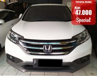 Jual CR-V: HONDA CRV 2.0 WHITE 2012 SPECIAL CONDITION, KM 47 RB.