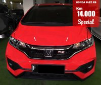 HONDA JAZZ RS AUTOMATIC RED 2017 SPECIAL CONDITION, KM 14 RB. (Honda_Jazz_RS_Automatic_Red_2017_Fix.jpg)