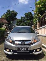 Jual Honda Mobilio E 2014 Silver Manual Service Record