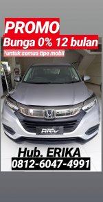 Jual HR-V: Honda New HRV Baru Bunga 0 Persen
