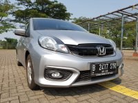 Jual Honda Brio Satya: BRIO E CVT AT 2018,KM 5 rb 99 PERSEN Like New TDP 10jt All In