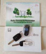Honda Brio Satya: Brio E 2018 km 21rb Matic, Brio Putih, Brio Matic (10.jpg)