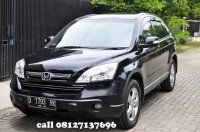 Jual FOR SALE Honda CR-V AT 2009 i-VTech 2000CC KM 77.000 Hitam