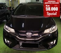 Jual HONDA JAZZ RS AUTOMATIC BLACK 2016 SPECIAL CONDITION, KM 58000.