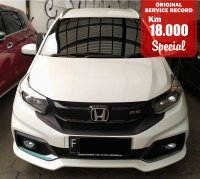 Jual HONDA MOBILIO RS AUTOMATIC WHITE 2017 SPECIAL CONDITION, KM 18000.