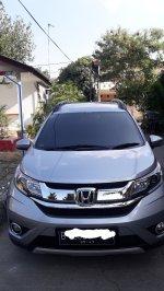 Jual BR-V: Honda BRV-E matic silver, mulus, pajak panjang