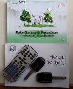 Honda: Mobilio MATIC Bebas Banjir km rendah 48rb ASLI RECORD, Mobilio Putih (10.jpg)