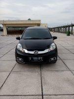 Jual Honda mobilio E prestige 2016 matic hitam