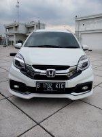 Jual Honda mobilio rs cvt matic 2016 putih km 10 rban
