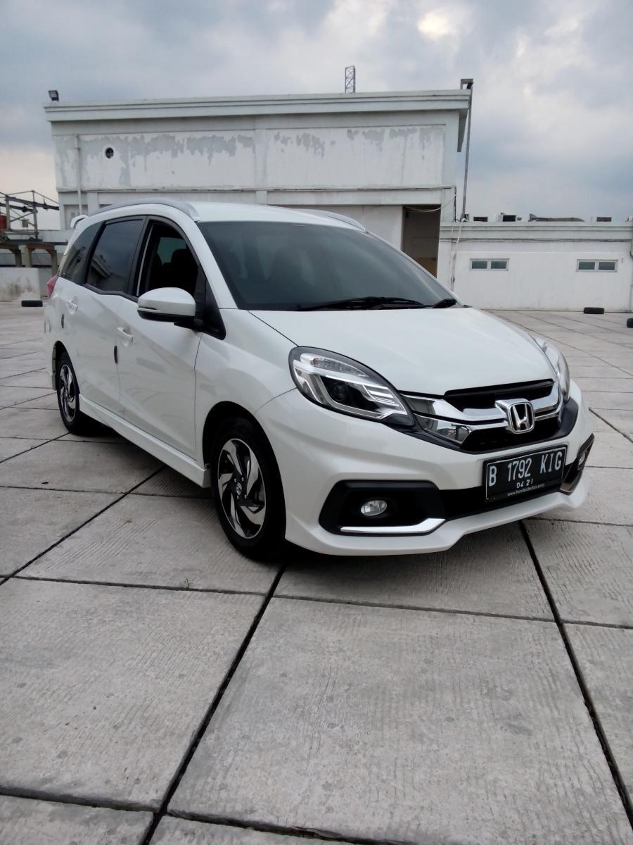 Honda Mobilio Rs Cvt Matic 2016 Putih Km 10 Rban Mobilbekas Com
