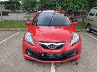 Di jaul mobil Honda Brio 1.2 E MT tahun 2014 (mobilbekastgr_20200628_211641_1.jpg)