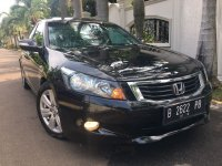 Jual Honda Accord 3.5L V6 Type Tertinggi, Hitam, KM 75rb