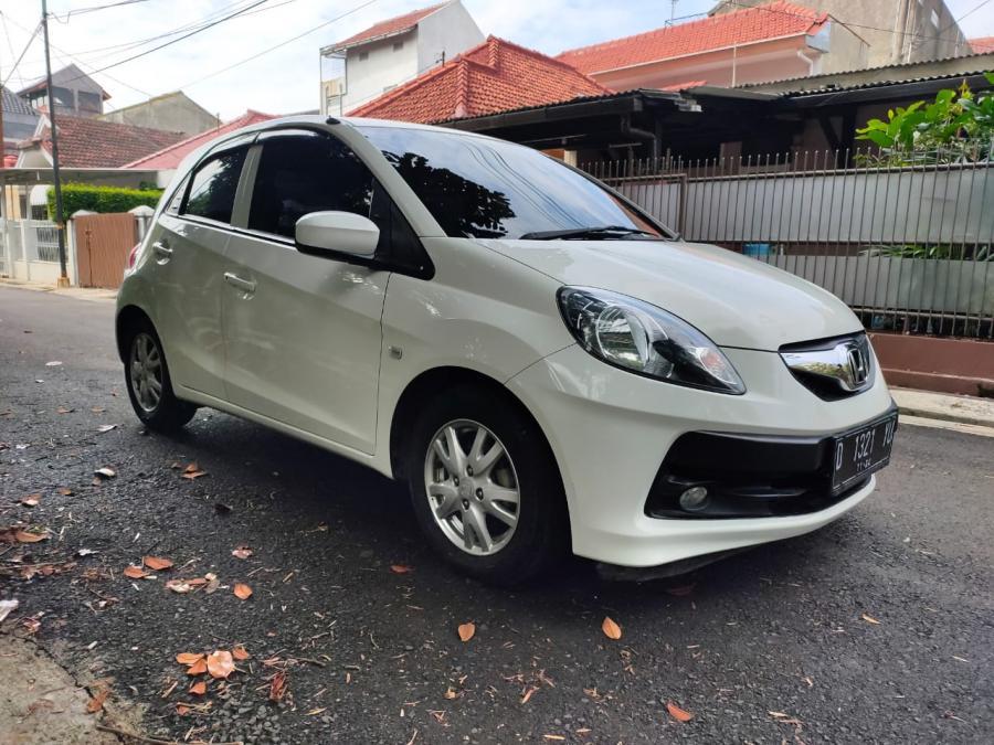 Honda Brio 1.2 E Satya M/T 2014 White - MobilBekas.com