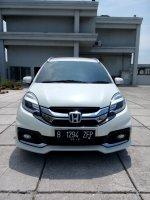 Jual Honda mobilio Rs cvt matic putih km 25 rban 2014