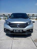 Jual CR-V: Honda crv 2.4 matic 2012 silver km 36 rb
