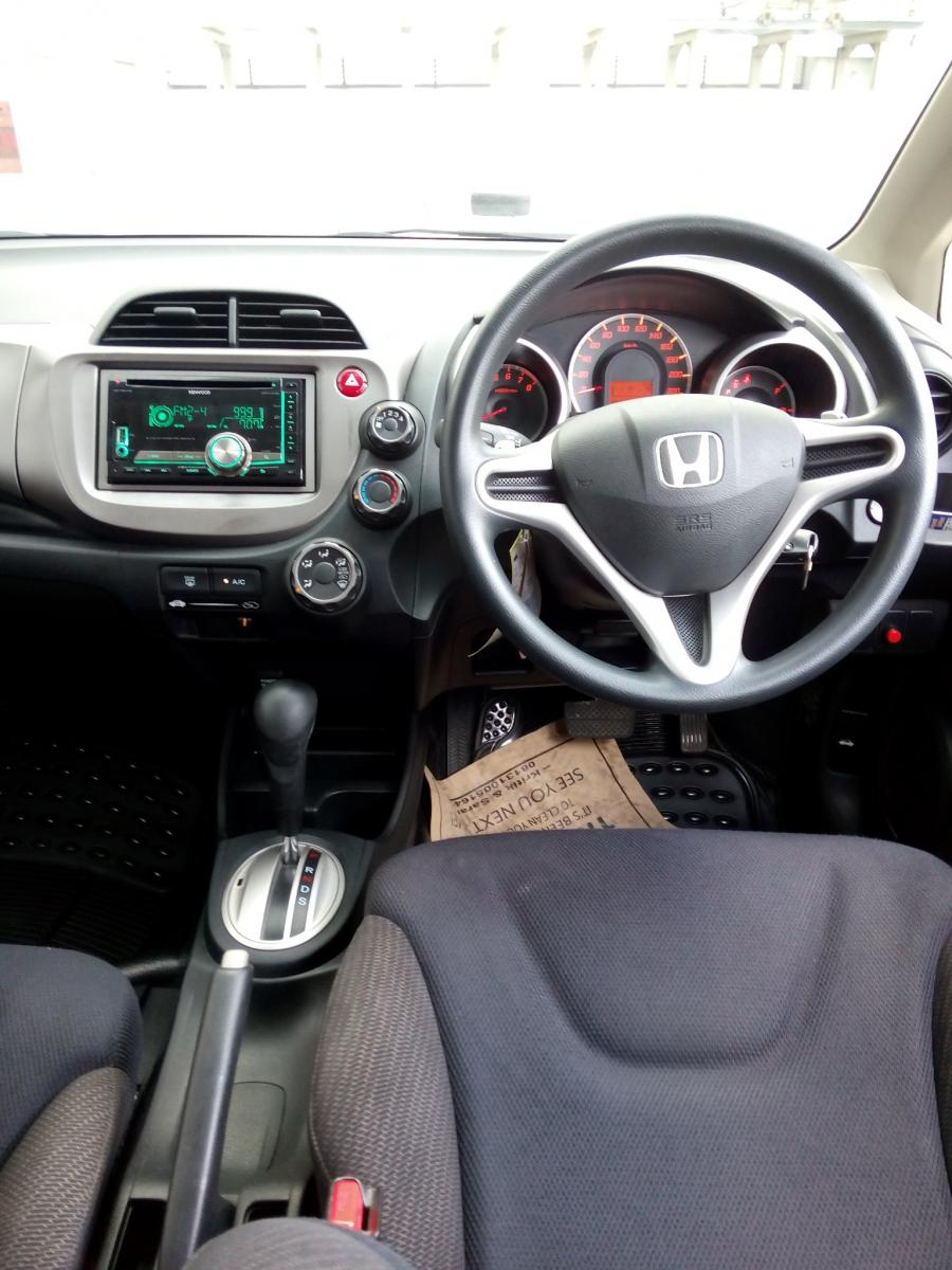 Honda Jazz Rs Matic 2012 Grey Km 28 Rban Mobilbekascom