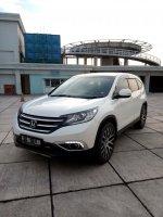 Jual CR-V: Honda crv 2.4 matic putih  2012 km 33 rb