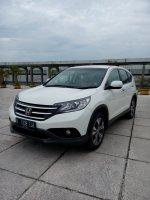 Jual CR-V: Honda crv 2.4 matic 2013 putih km 30 rban