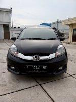 Jual Honda mobilio 1.5 E cvt matic 2016 hitam km 14 rban