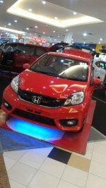Jual Honda Brio satya E CVT 1.2 L