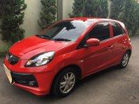 Jual Honda Brio 1.2E AT 2014 (bukan Satya) merah