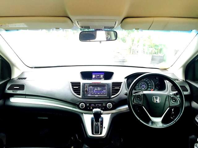 CR V Honda CRV 20 Automatic Thn 2012 Warna Putih MODIF